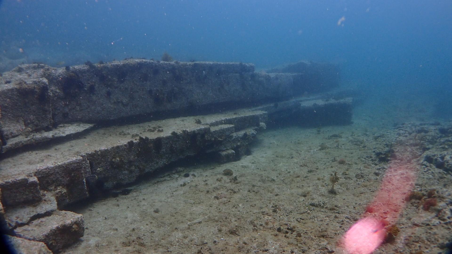 恋の浦 海底遺跡?